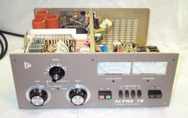 Inside the Alpha 78 (lessTransfomer)