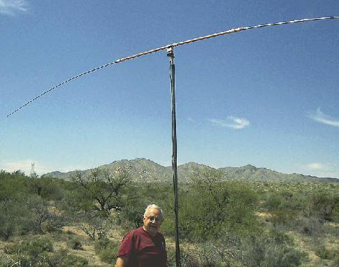 "Clark Cooper K8BP's ""Super Duper Five Band Portable"" Antenna is the HF ..."