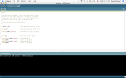 Arduino Software Running on the Macbook (OS-X Intel)