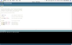 Arduino Software Running on the Macbook (OS-XIntel)