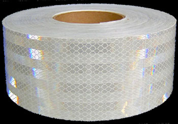 A roll of 3M Corporation's Reflective Safety Tape