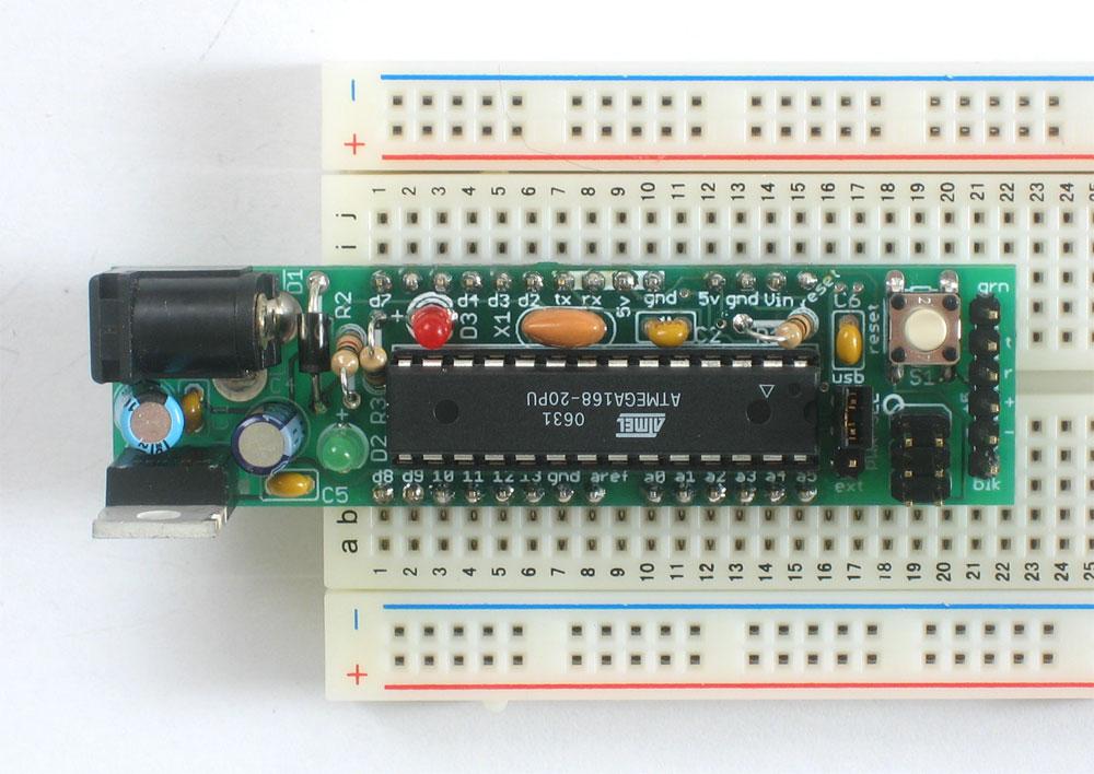 ATmega328 with Arduino 16MHz Bootloader DEV-09217 Arduino