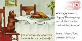 Our Family's Thanksgiving iCard