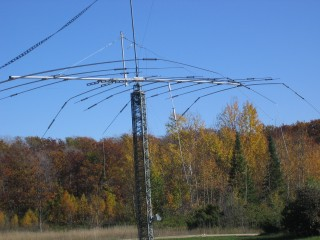 What happens when a Crank-Up Tower breaks a Cable a all SectionsDrop