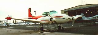 N110N Temco-Riley D-16(A)Twin-Navion