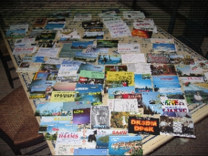 QSLs on Table
