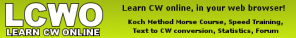 LCWO - Learn CW On-Line