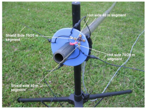 AE5JU Field Day Antenna Detail 2