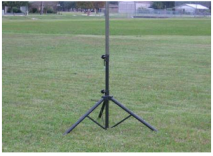 AE5JU Field Day Antenna Stand