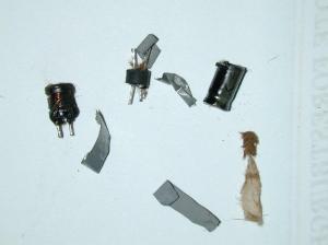 Blown Power Supply Capacitors