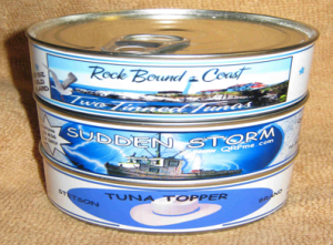 "QRPMe Tuna Tin Kits ""in the Can"""