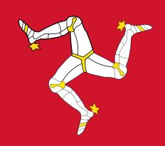 Isle of Man (Three Legged Man)