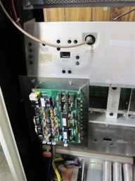 NHRC-10 Repeater Controller Mounted in the Repeater Cabinet Up Close