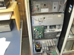 NHRC-10 Repeater Controller Mounted in the Repeater Cabinet