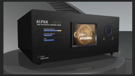 Alpha 4040 QRO Antenna Tuner Rendition (Exterior)