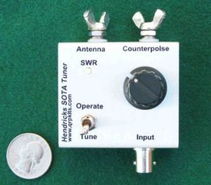 Hendricks SOTA Antenna Tuner