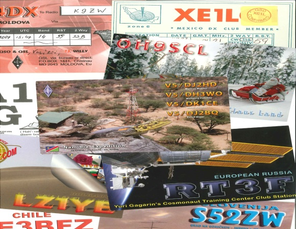DX Cards Just Received 29Nov12