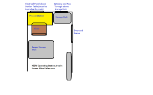 K9ZW Present Radio Room Layout