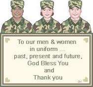 Thank You Military