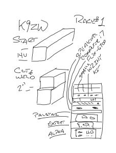 K9ZW Main Rack