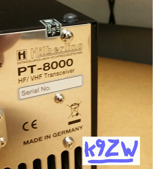 Hiberling PT-8000 Transceiver