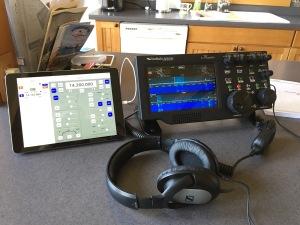 Maestro with K6TU Control Software on iPad