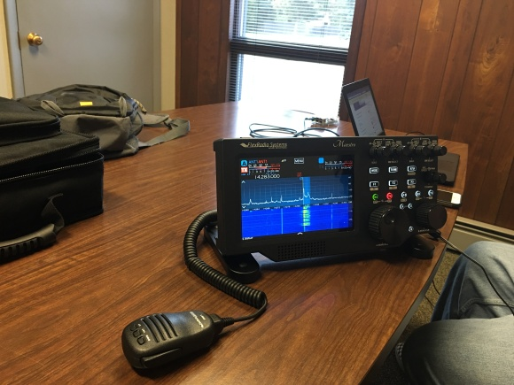 Connected Remote Maestro running QSOs