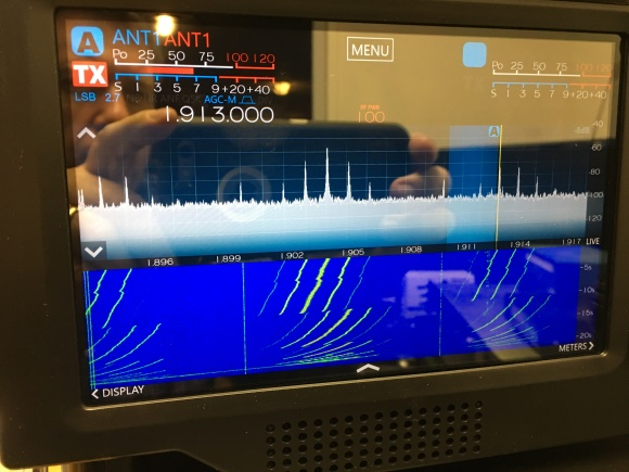 SmartSDR no filters and a bad 160m band