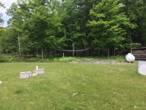 DX Engineering Hexbeam at Washington Island QTH